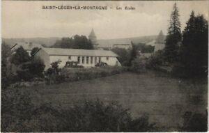 CPA St-LÉGER-La-Montagne - Les Écoles (122531)