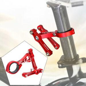 Bicycle Seat Post Handlebar Mount Water Bottle Cage Holder Rack Conversion Seat