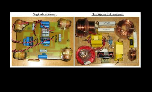 Spica TC-50 TC-50I  Speakers crossover upgrade service