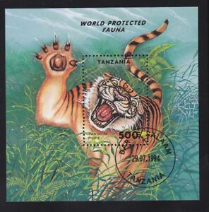 32/ Africa/ Tanzania 1994 MI Block251 Katzen, gestempelt - Markt Piesting, Österreich - 32/ Africa/ Tanzania 1994 MI Block251 Katzen, gestempelt - Markt Piesting, Österreich