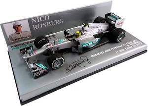 Mercedes Amg Petronas Rosberg Gagnant Gp Chine 2012 410120108 1/43 Minichamps