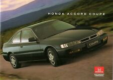 Honda Accord Coupe 1996 97 UK Market Sales Brochure 2.0i LS 2.2i ES