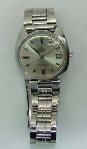Omega-Seamaster-Cosmic-Stainless-steel-date-automatic-waterproof-Wrist-Watch