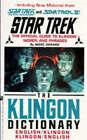 Klingon Dictionary: English/Klingon, Klingon/English by Marc Okrand (Paperback, 1992)