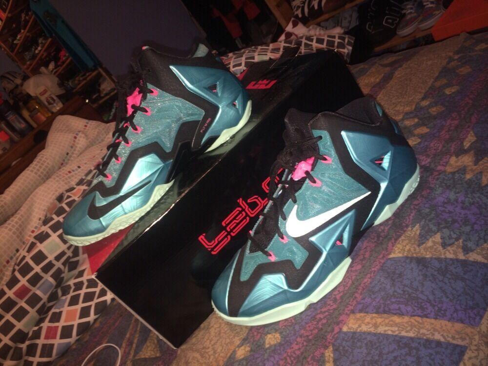 Nike LeBron 11 11 LeBron south beach Size 10 e1e75d - vinedosupply.com 8c5507581