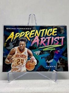 2019-20-Panini-Court-Kings-BRUNO-FERNANDO-Apprentice-Artist-Rookie-RC-24