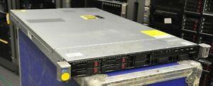 HP DL360p Gen8 G8 2x E5-2658 v2 2.4Ghz 10-Core XEON 64GB RAM 4x 600GB 10K SAS HD