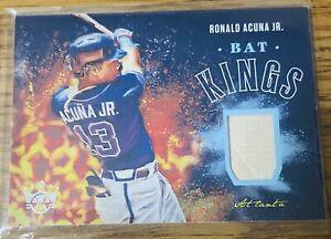 Ronald Acuna Jr Bat Kings Game Used Bat Relic. Diamond Kings 2020. BK-RAJ Braves