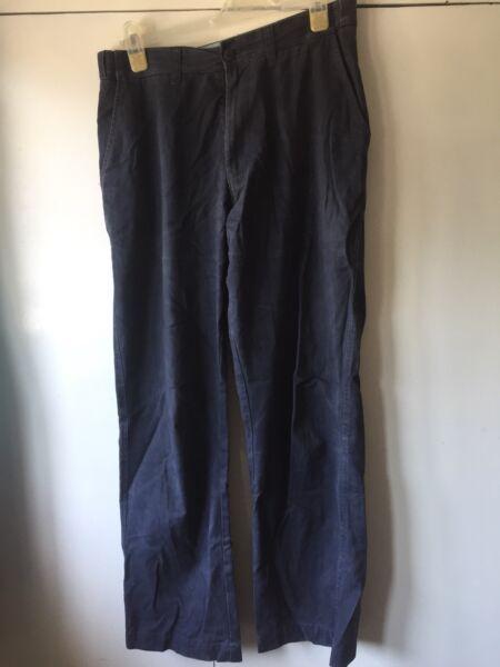 2019 Ultimo Disegno Blue Harbour Blu Chinos Pantaloni 32 W, 31 L