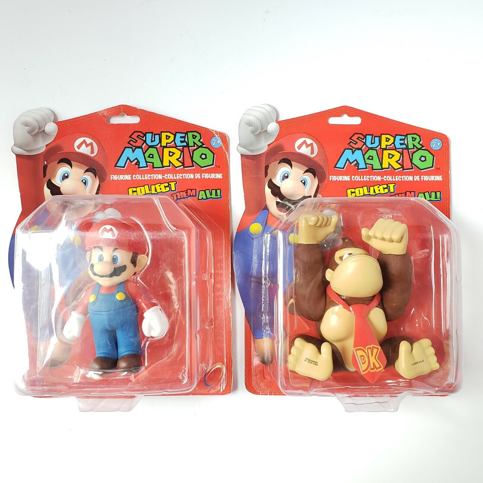 Super Mario Figurine Collection 5  Collectable Figures Mario & Donkey Kong - NEW