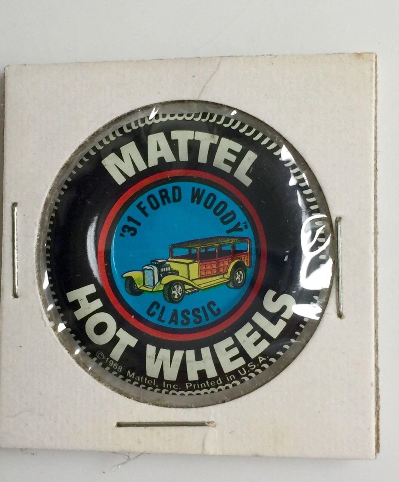 classeic 31 FORD Woody USA 1968 caliente ruedas rossoline pulsante molto difficile da trovare Pin