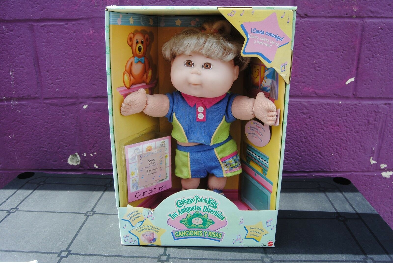 Poupée cabbage patch kids mattel copinoux bethany celina