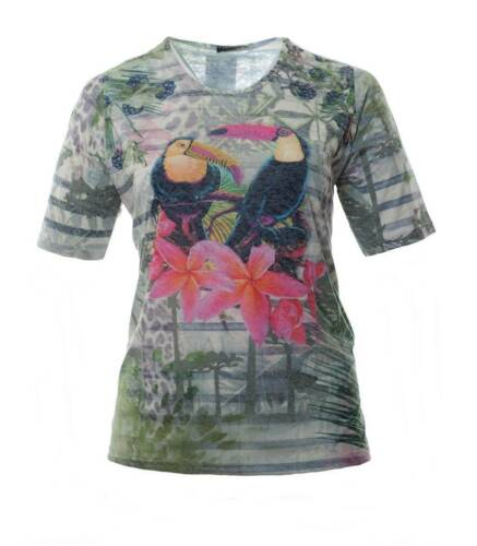 That/'s me t-shirt señora verde con Kakadu grandes tamaños