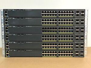 Cisco-Catalyst-2960X-24-Port-Gigabit-Ethernet-Switch-WS-C2960X-24TS-L-4x-SFP