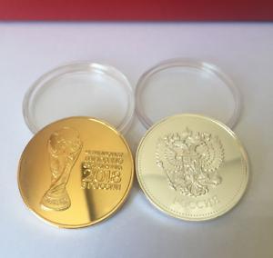 Russische 2018 Fußball Wm Gedenkmünze Lucky Münze Medaille Und