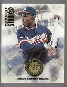 Kenny-Lofton-1997-Donruss-Studio-Master-Strokes-Jumbo-Card-0830-5000