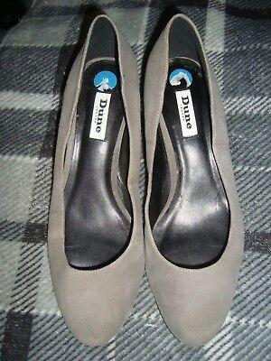 Dolce Dune Uk 7.5 Eu 41 Grigio Suede Shoes- Disabilità Strutturali