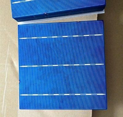 10W-1000W Poly Solar Cell Kit 6x6 156x156 Polycrystalline Cells For DIY Panel