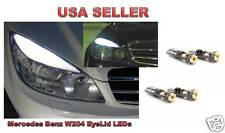 4 X Mercedes Benz W204 EyeLID LED Bulb + POLARITY FREE NO MORE FLIPPING BULBs