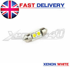 1x 31mm Xenon White 2 SMD LED Interior Light Bulb Glove Box VW Golf Mk4 4 IV