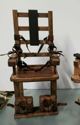 Model Kit DIY 1//6 scale Old Sparky Electric Chair West Virginia Black Keys model