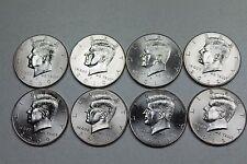 2009 2010 2011 2012 P D Uncirculated Kennedy Half Dollar Mint Roll Set