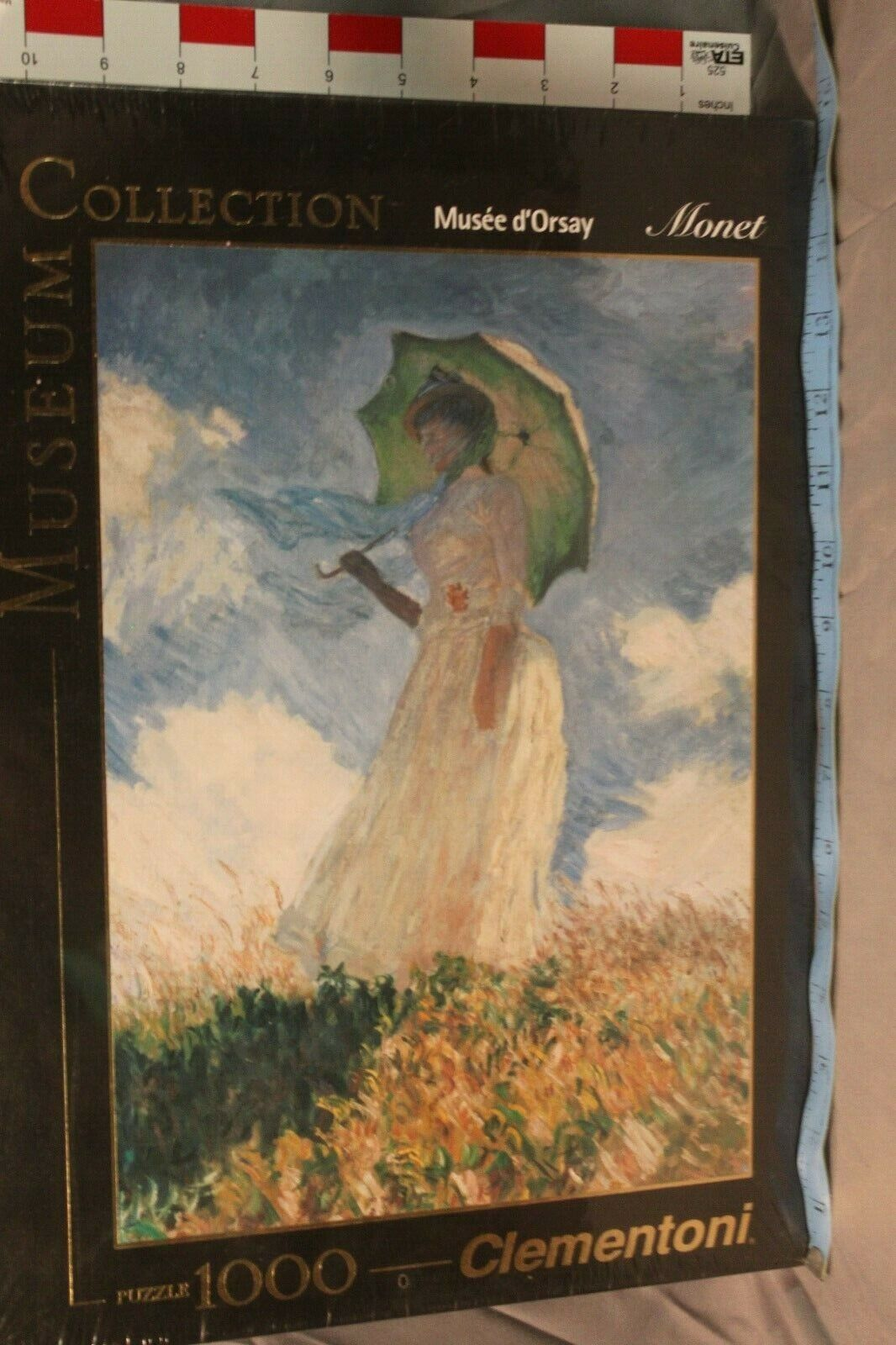 garanzia di qualità Clementoni Museum Collection 1000 Piece Puzzle Monet Lady Lady Lady With Parasol Sealed  consegna diretta e rapida in fabbrica