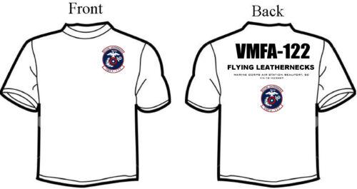 T 122 hoed polo Flying Vmfa D6 Leathernecks hoodie shirt Logo Squadron en aqdYwTO