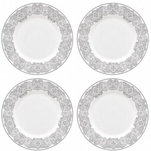 Waterford Lismore Lace Platinum assiettes à salade 8  4 assiettes à salade NEUF avec étiquette