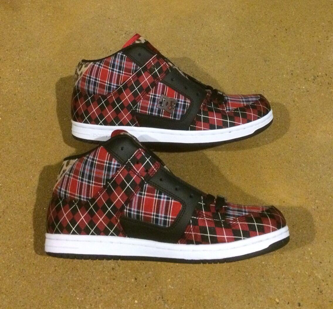 DC Manteca LTX Donna's Dimensione 9.5 True rosso rosso rosso nero Cheetah BMX Skate scarpe scarpe da ginnastica b7ca1e