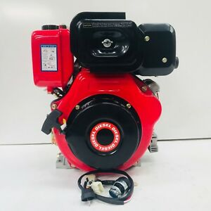 Details about LA186F1E 10HP ELECTRIC START DIESEL ENGINE REPLACES YANMAR  L100 L100AE 1
