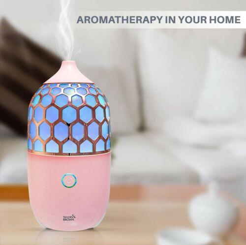 90ml A NIDO D/'APE aromaterapia ad ultrasuoni Diffusore Cool Mist umidificatore LUCE 7 LED