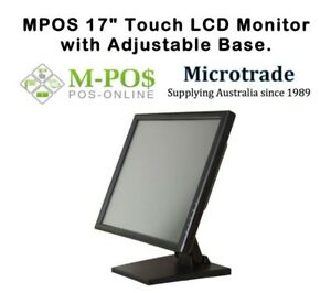 POS-17-034-Touch-Screen-Point-of-Sale-Monitor-VESA-Mount-Fully-Adjustable-NEW