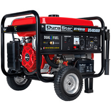 DuroStar DS4850EH 4,850-Watt Dual Fuel Electric Start Portable Power Generator
