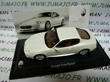 Mas48s car 1//43 leo models maserati coupe gransport 2004