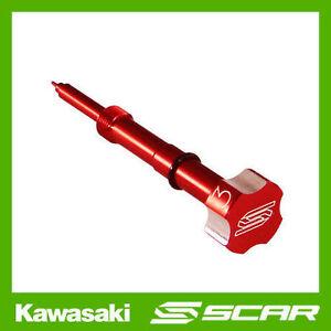 VIS-DE-RICHESSE-CARBURATEUR-KEIHIN-FCR-ROUGE-KAWASAKI-KX-F-KXF-250-450-KLX-SCAR