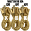 3-Pack-10Ft-Braided-Micro-USB-Phone-Charger-Charging-Cable-Data-Cord-For-Samsung miniature 2