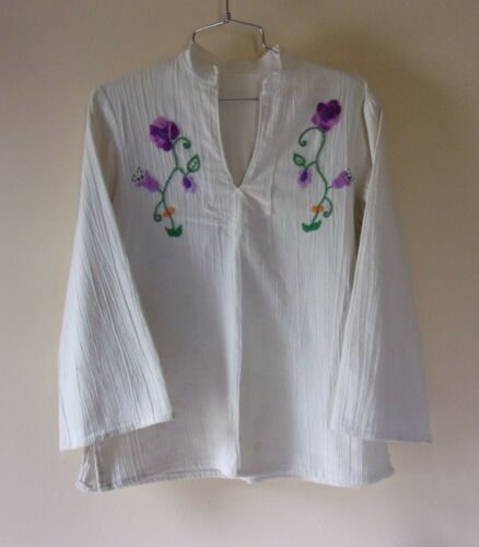 OOAK Boho Caftan Hand Embroidered Hand Made Bell S