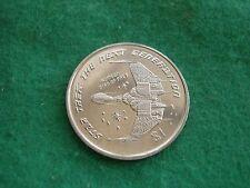 STAR TREK NEXT GENERATION LIBERIA KLINGON BIRD OF PREY 1997 DOLLAR BU FREEPOST