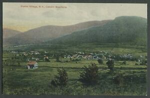 Hunter-Greene-County-NY-c-1908-Postcard-BIRDSEYE-VIEW-OF-VILLAGE