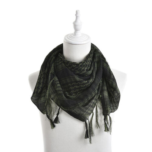 Reliable Arab Shemagh Keffiyeh Military Tactical Palestine Scarf Shawl Gift UK