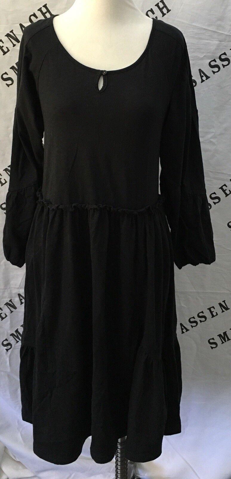 HTF damen Matilda Character Counts schwarz Charlie Dress Größe XL X Large EUC