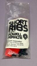 POWELL PERALTA - SHORT RIBS - RED/ROJAS - OLD SCHOOL - NOS - SKATEBOARD -VINTAGE