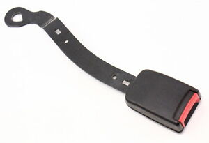 RH-Front-Seat-Belt-Seatbelt-Receiver-Black-VW-Jetta-Golf-MK4-1J4-858-472