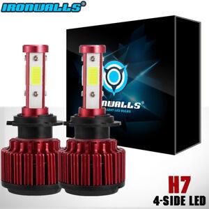 1800W-H7-CREE-LED-HEADLIGHT-Bulbs-Kit-Low-Beam-Fit-For-VW-Jetta-Golf-CC-Tiguan