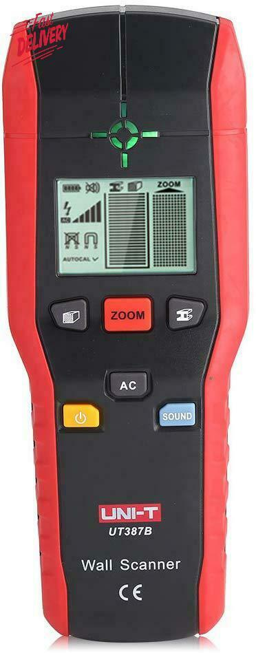 Professional Wall Scanner Digital Handheld Detector Finder Wood Metal Ac Cable E