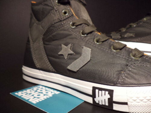 ... available Converse Poorman Weapon Hi Undefeated Olive Green White Black  Orange 110462 13 c78b1cd2d