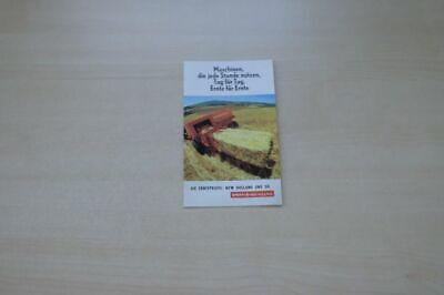 198787) Sperry New Holland Pressen Prospekt 196?