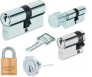 abus security schlie zylinder profilzylinder schlie anlage set 39 s c83 c73 k82n ebay. Black Bedroom Furniture Sets. Home Design Ideas