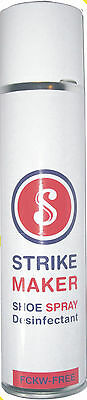 Strike Maker Schuhdeo Spray 400ml Profi Anwendung Desinfektion Schuhspray